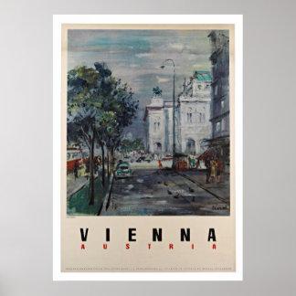 Wien Österreich - Vintage Reise-Plakate Poster