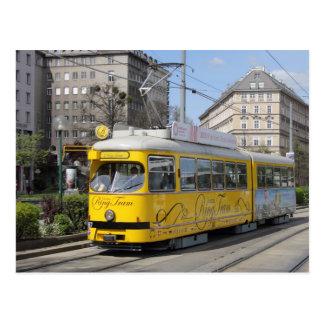 Wien-Ring-Tram Postkarte