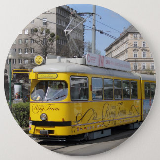 Wien-Ring-Tram Runder Button 15,3 Cm