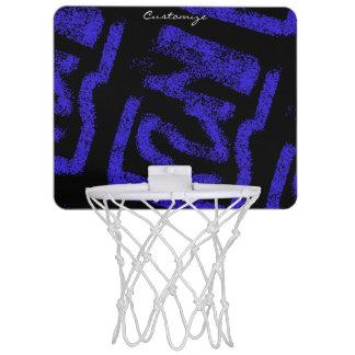 wiggly rosa blaue Tupfen Thunder_Cove Mini Basketball Netz