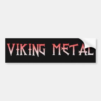 Wikinger-MetallAutoaufkleber Autoaufkleber