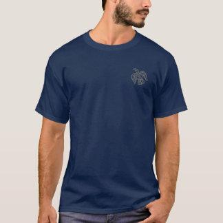 Wikinger-Raben-Grau-Shirt T-Shirt