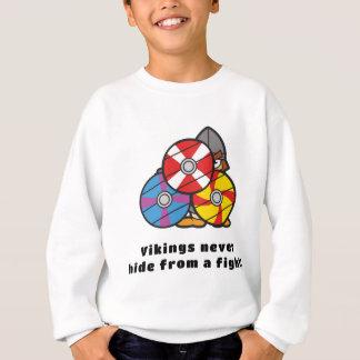 Wikinger verstecken nie sich sweatshirt