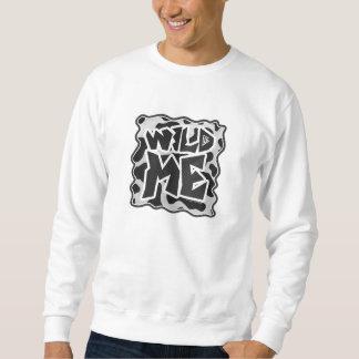 Wild ich Kuh Schwarzweiss Sweatshirt