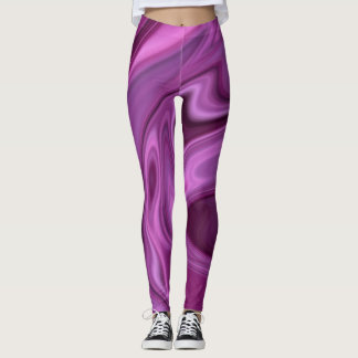 Wild in Lila Leggings