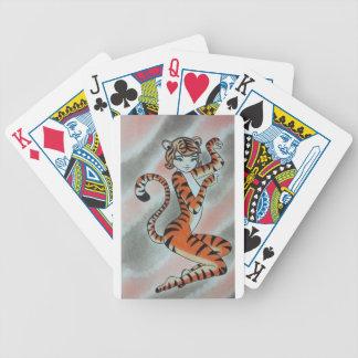 Wilde Dame Tiger Original Pokerkarten