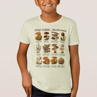 Wilde essbare Pilze T-Shirt