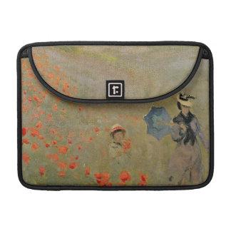 Wilde Mohnblumen Claude Monets |, nahe Argenteuil Sleeve Für MacBook Pro