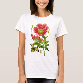 wilde Pfingstrose T-Shirt