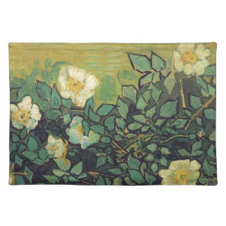 Wilde Rosen, 1890.  Vincent van Gogh. Stofftischset