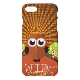 Wilde süße Tiere - Eule iPhone 7 Hülle