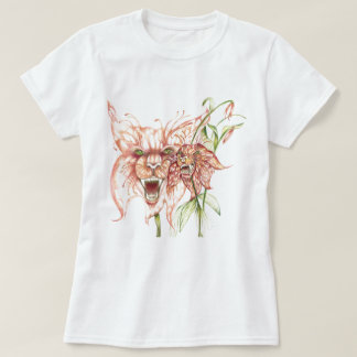 Wilde Tigerlilien T-Shirt