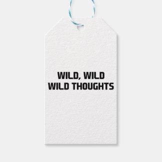 Wilde wilde Gedanken Geschenkanhänger