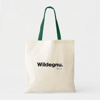 Wildegnu.  Die Taschen-Tasche Budget Stoffbeutel