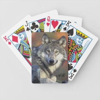 Wilder Wolf Spielkarten