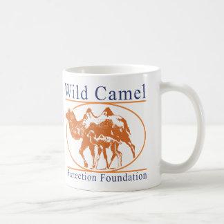 Wildes Kamel-Schutz-Grundlagen-Logo Kaffeetasse