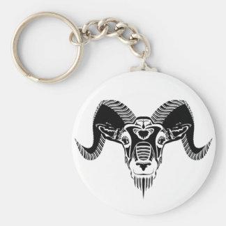 wildes RAM Schlüsselanhänger