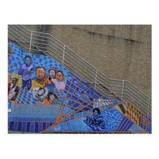 Wilkinsburg Wandgemälde an der Station Postkarten
