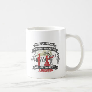 Will get married - Zombie Apocalypse Tasse