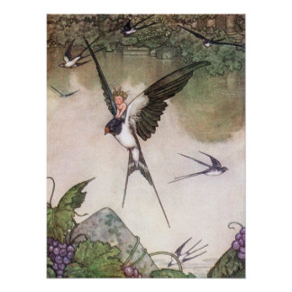 William-Heide Robinson - Tommelise Poster