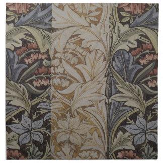 William Morrisbluebell-Gewebe-botanischer Druck Serviette