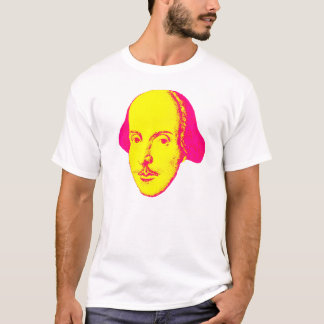 William Shakespeare Pop-Kunst T - Shirt