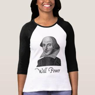 William Shakespeare wird Power Hemd