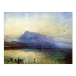 William Turner blauer Rigi See des Postkarte