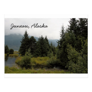 Willkommen nach schönen Juneau, Alaska Postkarte