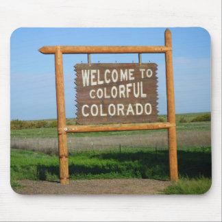 Willkommen zur bunten Colorado-Mausunterlage Mousepad