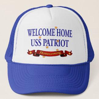 Willkommener Patriot des Zuhause-USS Truckerkappe