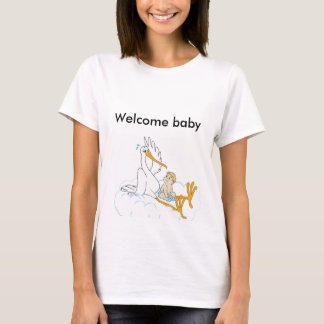 Willkommenes Baby T-Shirt