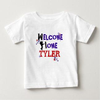 Willkommenes Zuhause Baby T-shirt