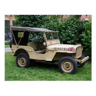 Willys Jeep Postkarten