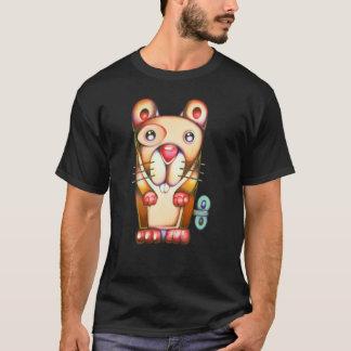 Wind-oben Hamster T-Shirt