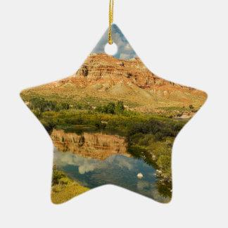 Wind River Keramik Stern-Ornament