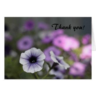 Winde danken Ihnen Grußkarte