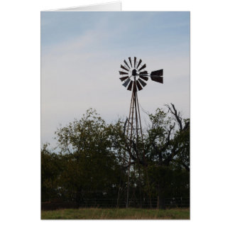 Windmühlen-Karte Karte