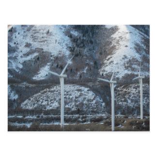 Windmühlen Postkarte