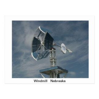 Windmühlen-Postkarte Postkarte