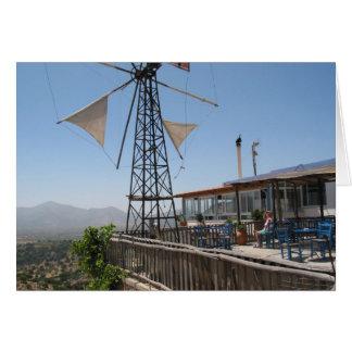 Windmühlen von Kreta Karte