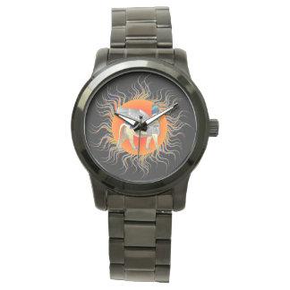 Winged Stier Uhr