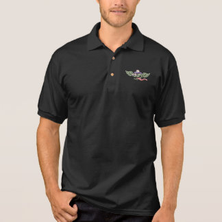 Wingy Monster RN Polo Shirt