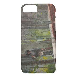 Winslow Homer - Jäger im Adirondacks iPhone 8/7 Hülle
