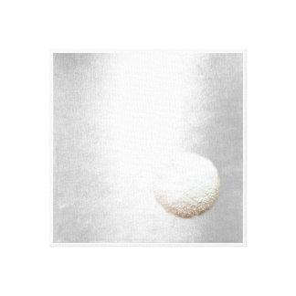 Winter-Eindrucks-Schnee-Ball-Minimalismus-Kunst Leinwanddruck