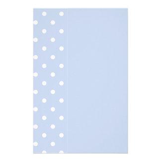 Winter-Himmel-Blau Briefpapier