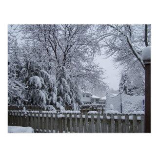 Winter in New-Jersey Postkarten