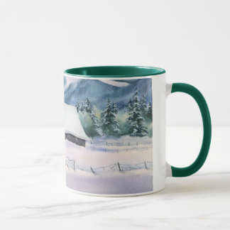 WINTER-SCHEUNE durch SHARON SHARPE Tasse