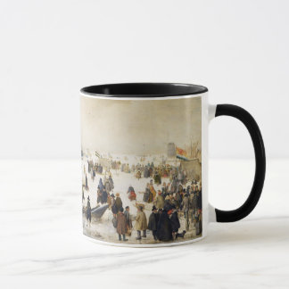 Winter-Szene auf einer Kanal-Kaffee-Tasse Tasse