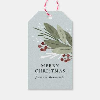Winterberry-Geschenk-Umbauten Geschenkanhänger
